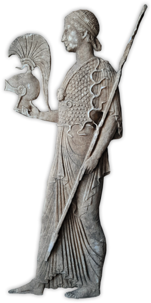 Η Αθηνά του βάθρου της Νικόπολης